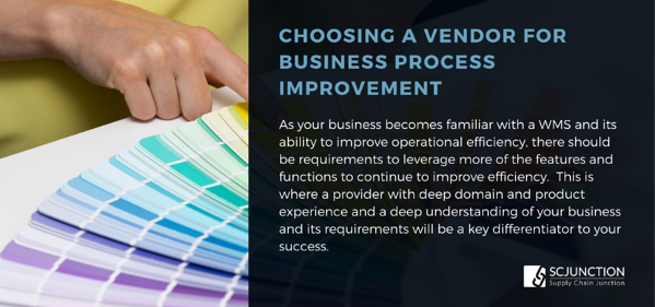 Choosing a vendor for business process improvement
