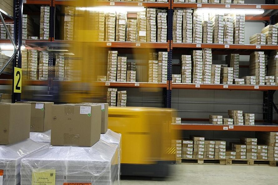 your warehouse management system and picking
