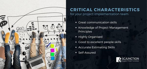 Project Implementation Team Characteristics