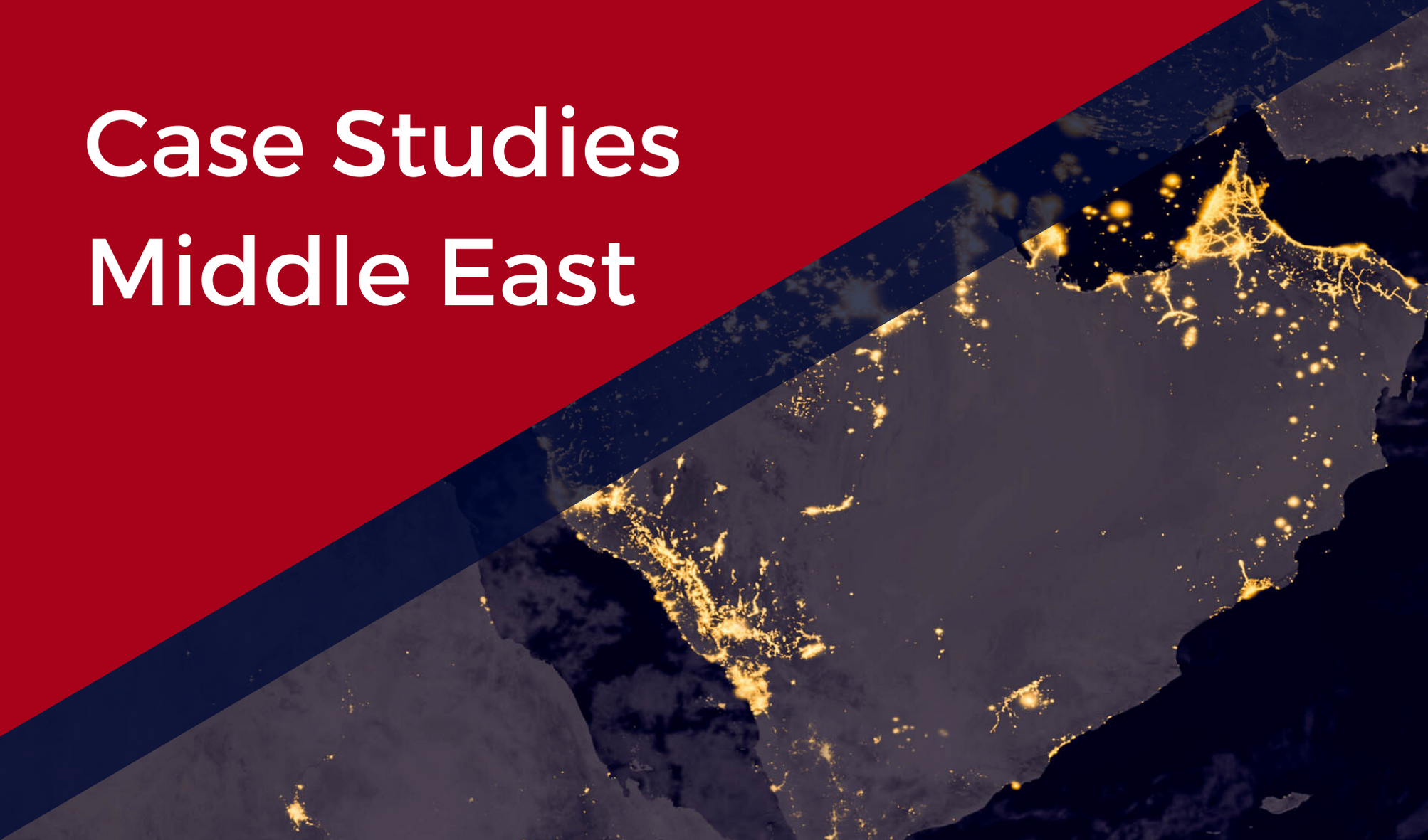 Middle East Case Studies