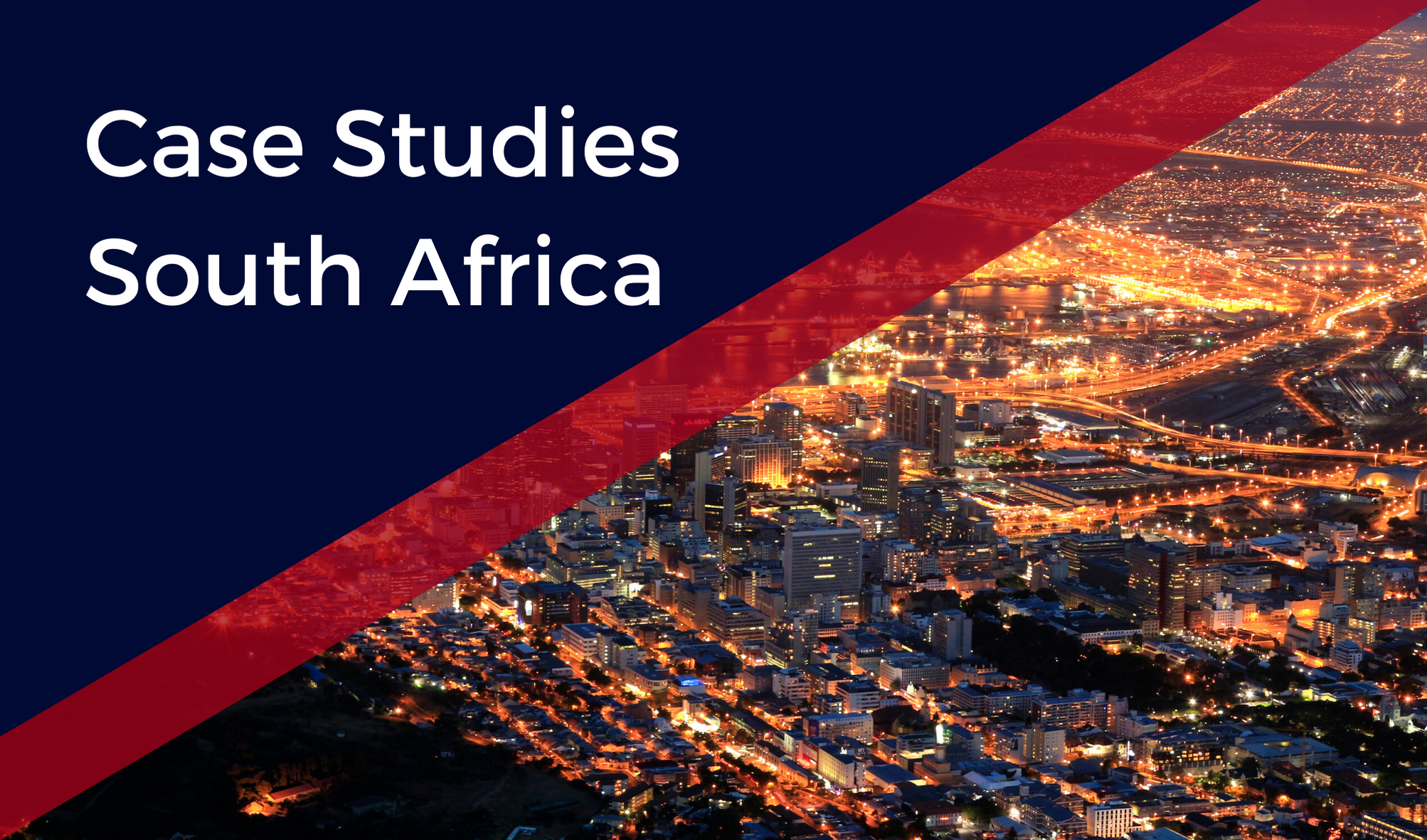South African Case Studies